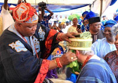 Oba Kabiri confers my title