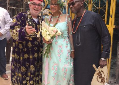 At Emeka (Ed) and Muni's wedding