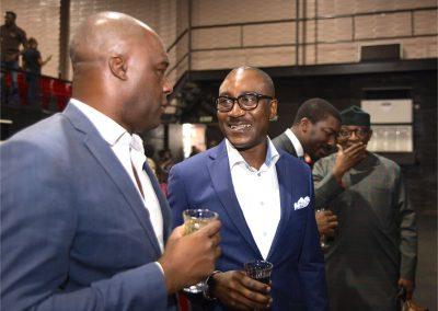 Niyi & Andrew (but what is Chuka telling Foluso?)