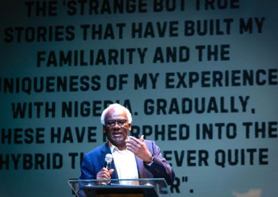 Bankole Olayebi expounding - my thanks to all the Bookcraft team