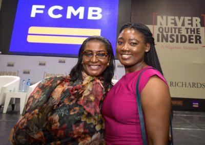 "FCMB,  Femi Olayebi and event manager Akomu ""Koko"" Eigbe."