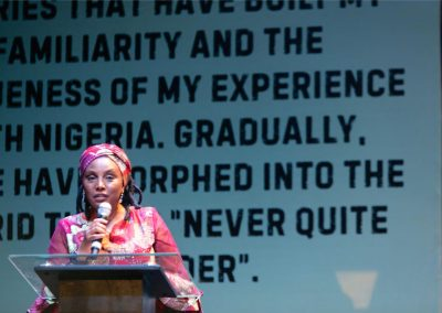 Kadaria Ahmed - Nigeria's foremost political & social interviewer & journalist