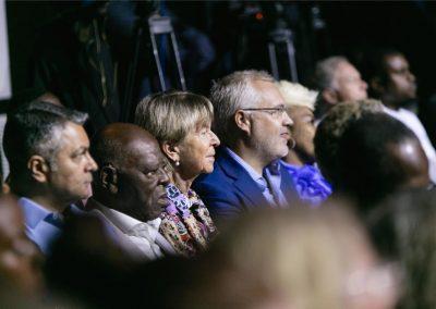 Audience with Prof Ogunbiyi, Heidi and Anders etc