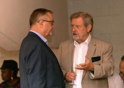 Chris Parkes & John Tuffrey - 70 years in Nigeria between them