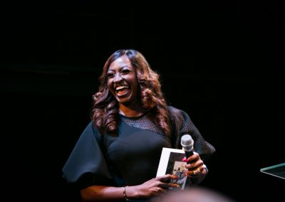 Kate Henshaw and her special laugh - thanks Kate!
