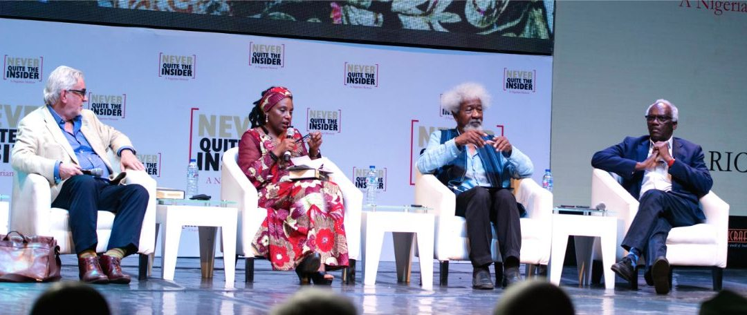 "PHOTOGRAPHS of Nigerian Launch of ""Never Quite the Insider"""