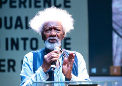 The Wole Soyinka direct look - escape not!